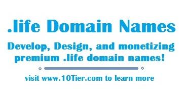 .life domain names